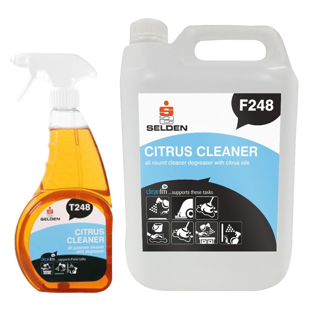 Selden | Citrus Cleaner | All Purpose Cleaner & Degreaser
