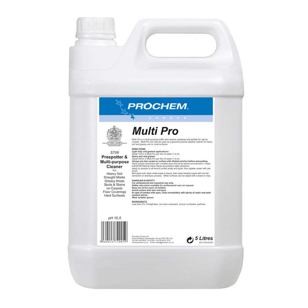 Prochem | Multi Pro | 5 Litre | S709