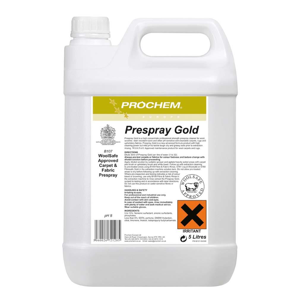 Prochem | Prespray Gold | 5 Litre | B107