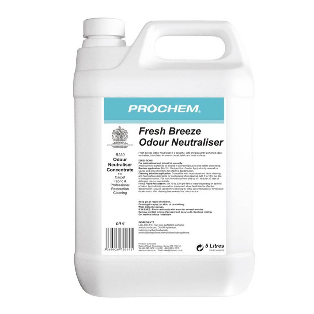 Prochem   Fresh Breeze Odour Neutraliser   5 Litre   B230
