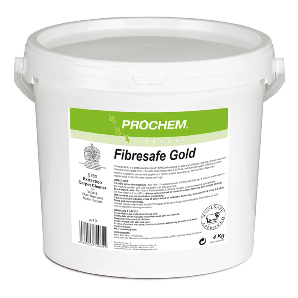Prochem   Fibresafe Gold   4kg   S780