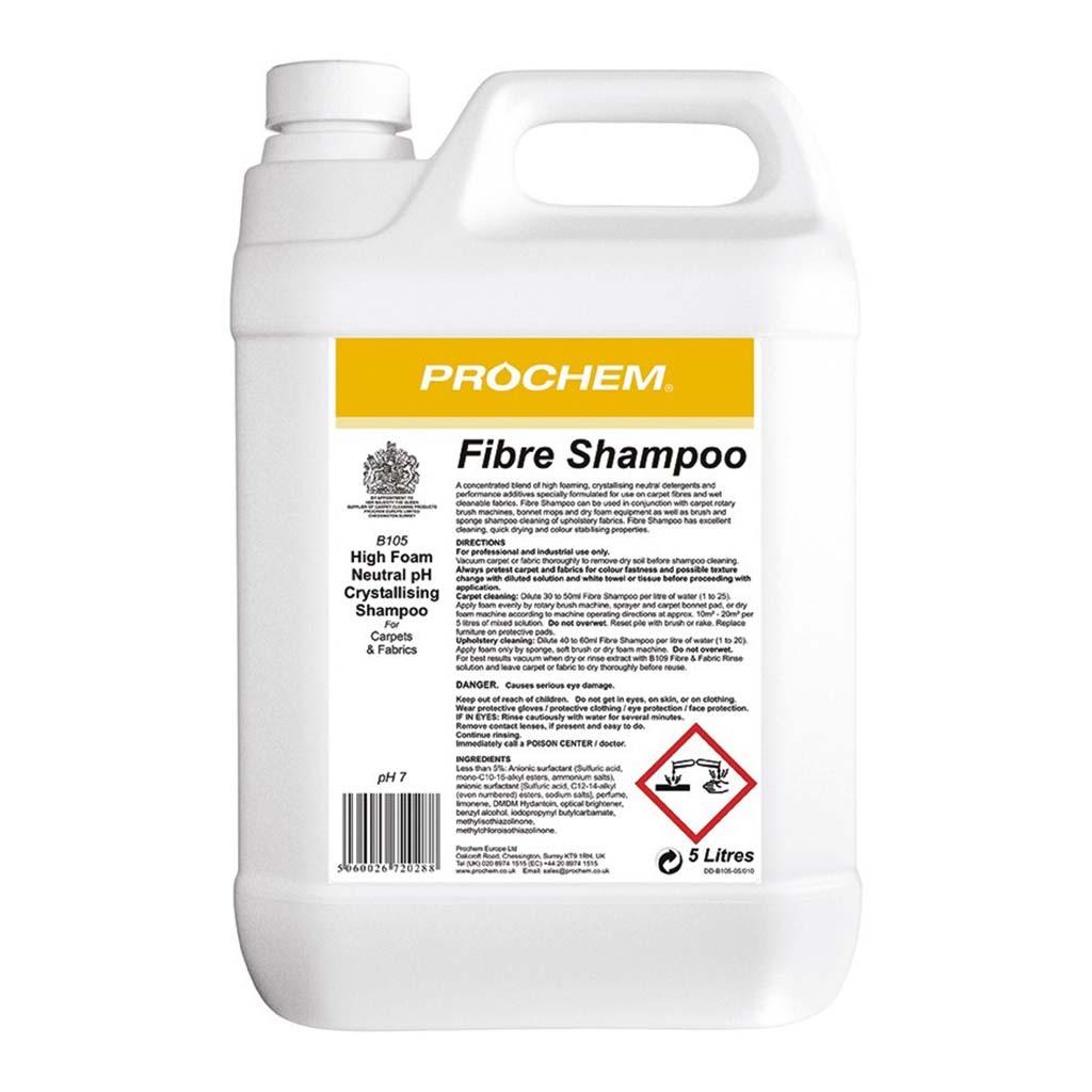 Prochem | Fibre Shampoo | 5 Litre | B105