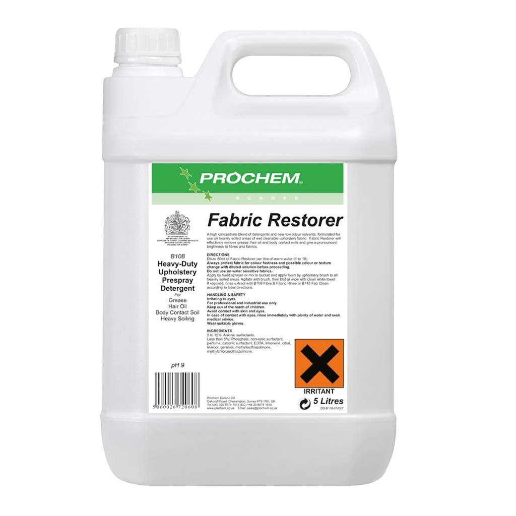 Prochem | Fabric Restorer | 5 Litre | B108