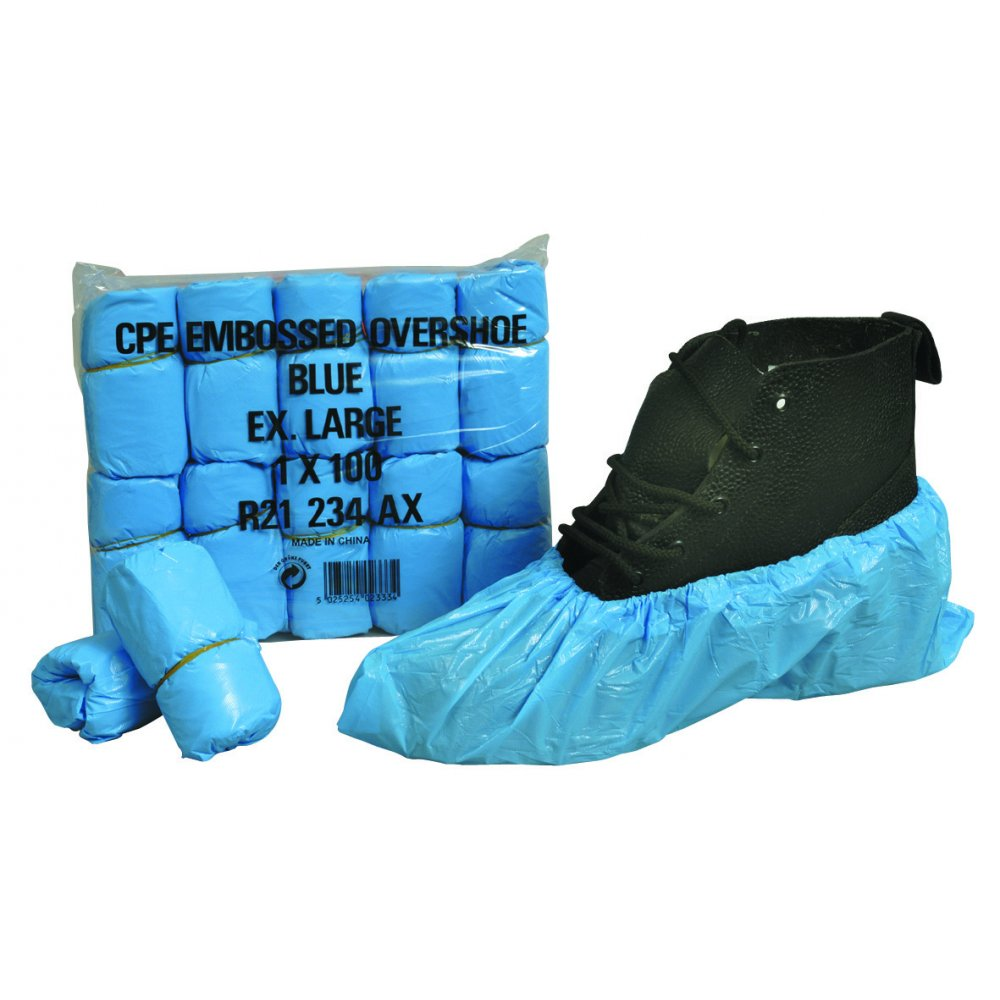 Polythene Overshoes | Pack of 100
