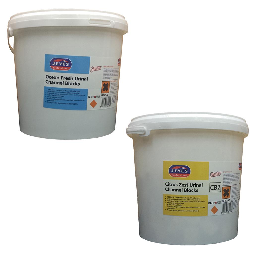 Jeyes   Urinal & Channel Blocks   3kg   YCB2/YCB3