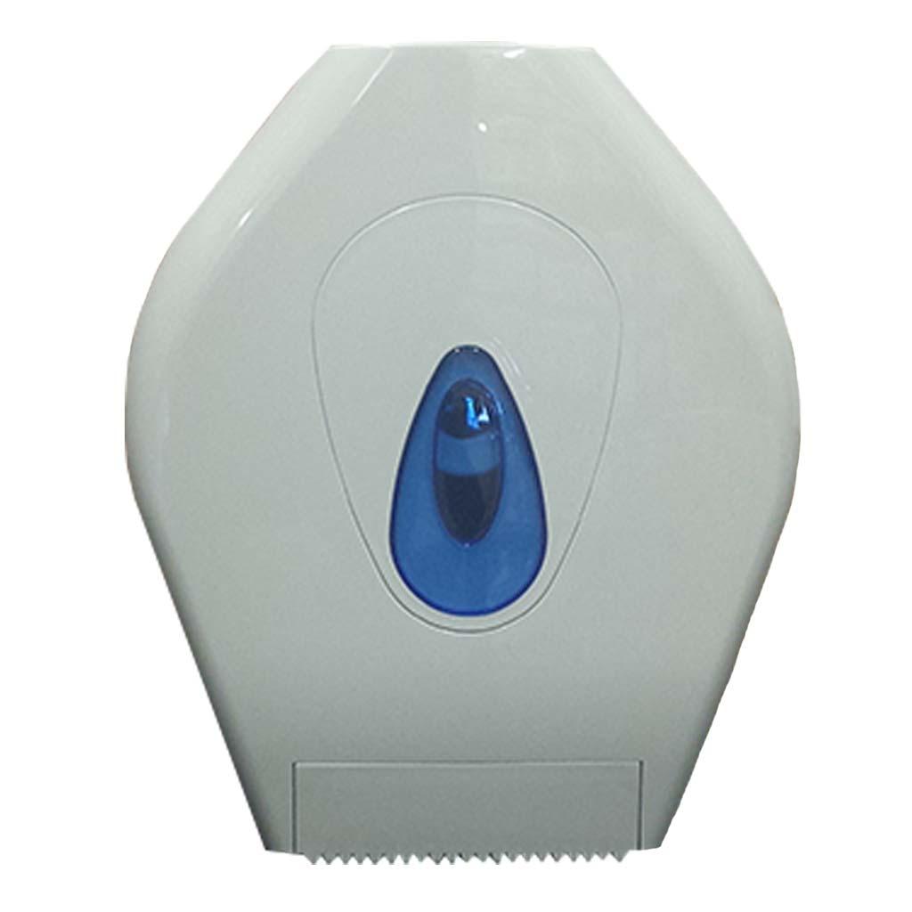 White Plastic Centrefeed Roll Dispenser DP007