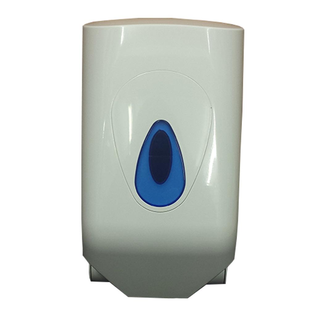 White Plastic Mini Centrefeed Roll Dispenser DP008