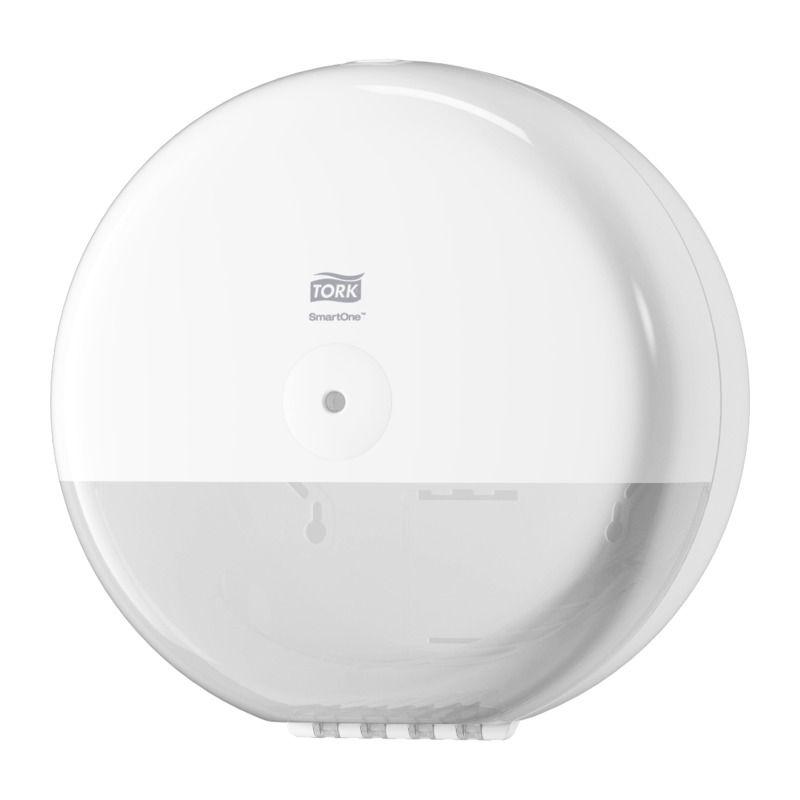 Tork | SmartOne Elevation | Plastic Toilet Roll Dispenser | White | 680000