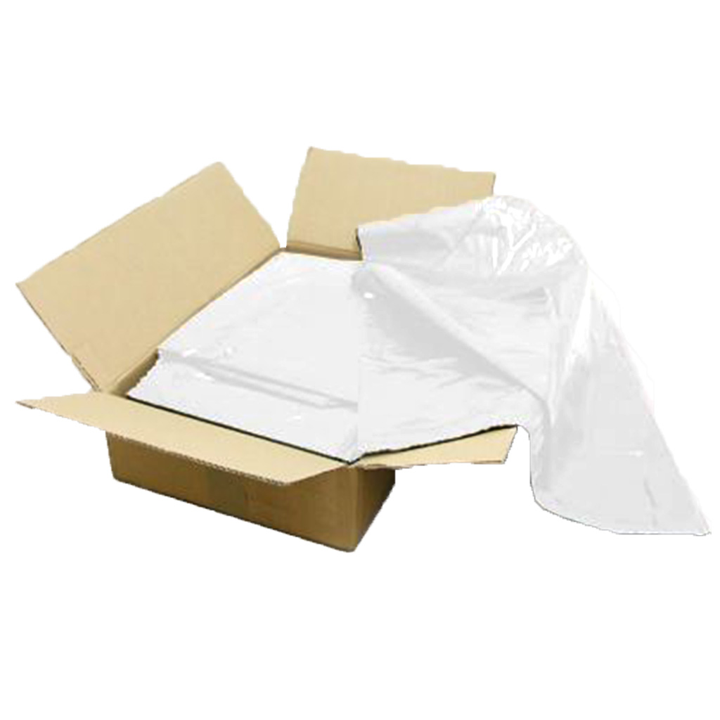 White Heavy Duty Square (Office) Bin Liners (Box of 1000) BRS083