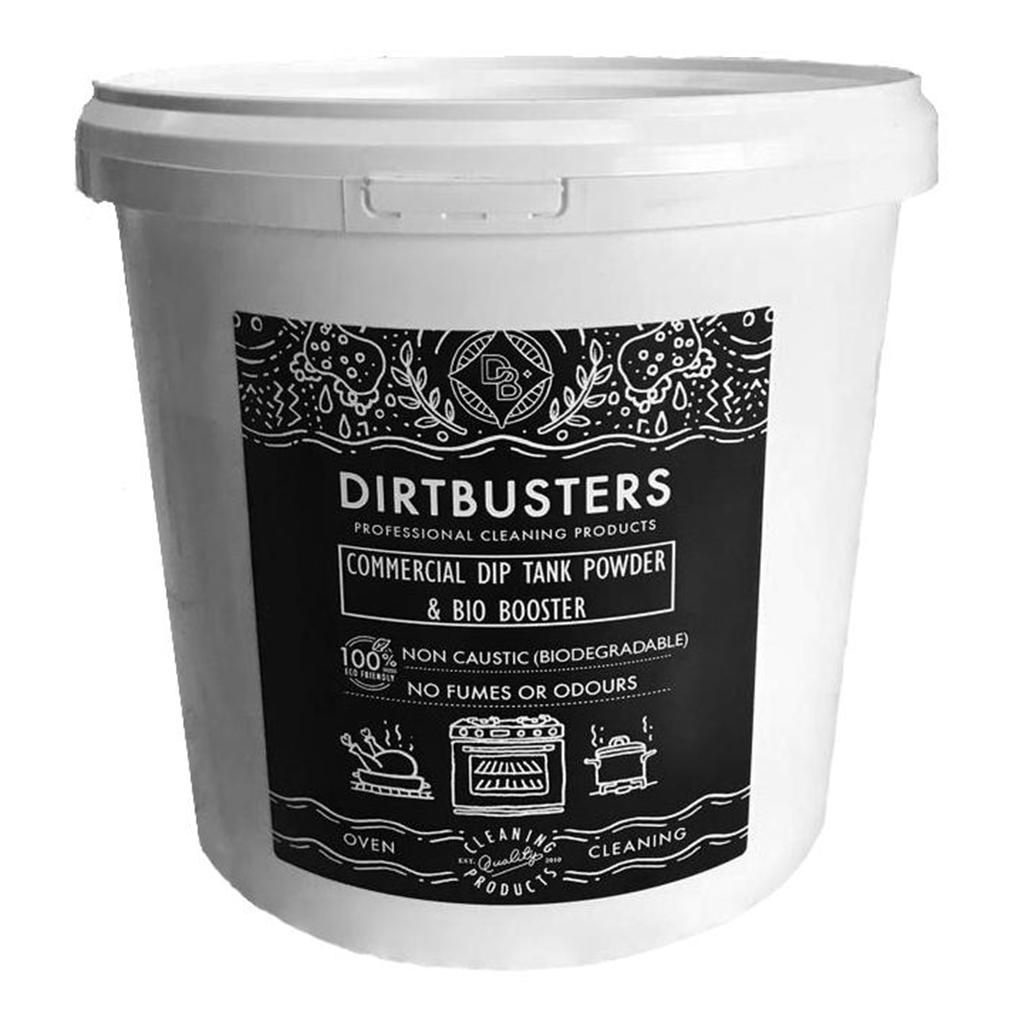 Dirtbusters | Commercial Dip Tank Powder & Bio Booster | 5KG