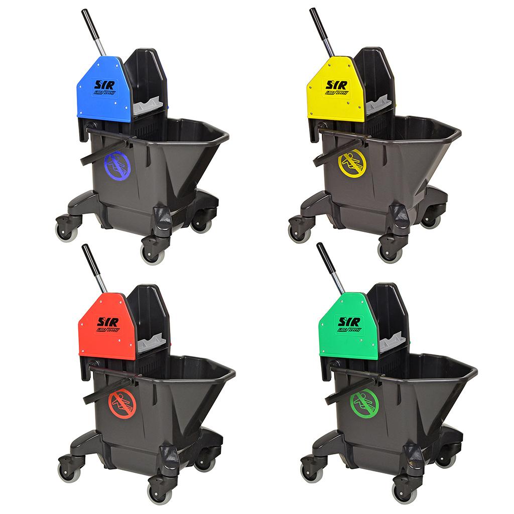 SYR | TC20-R | Mop Bucket & Ringer Combo | 13 Litre Capacity