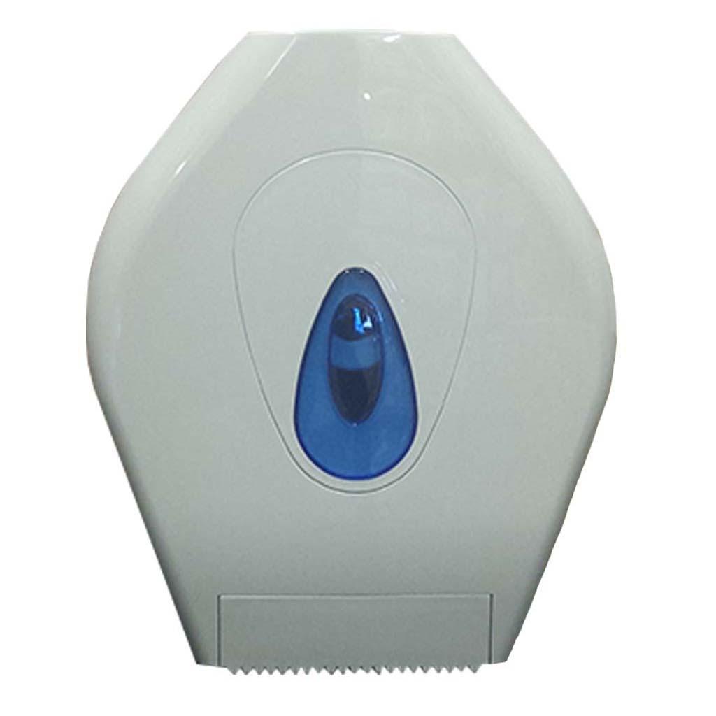 Mini Jumbo Plastic Toilet Roll Dispenser   White   DP006