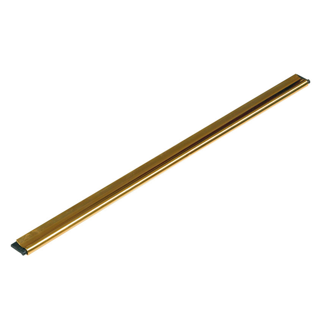 Unger GC Brass Channel with Soft Rubber
