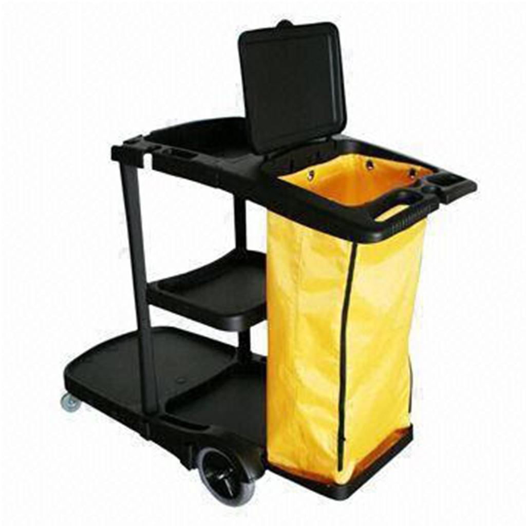 Swift | Black Janitorial Trolley | AF08180