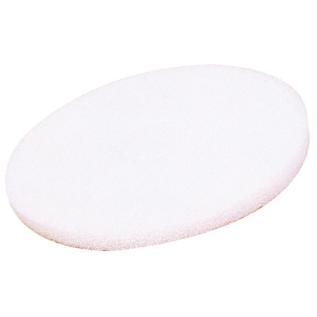 SYR | Floor Pads | White | Box of 5