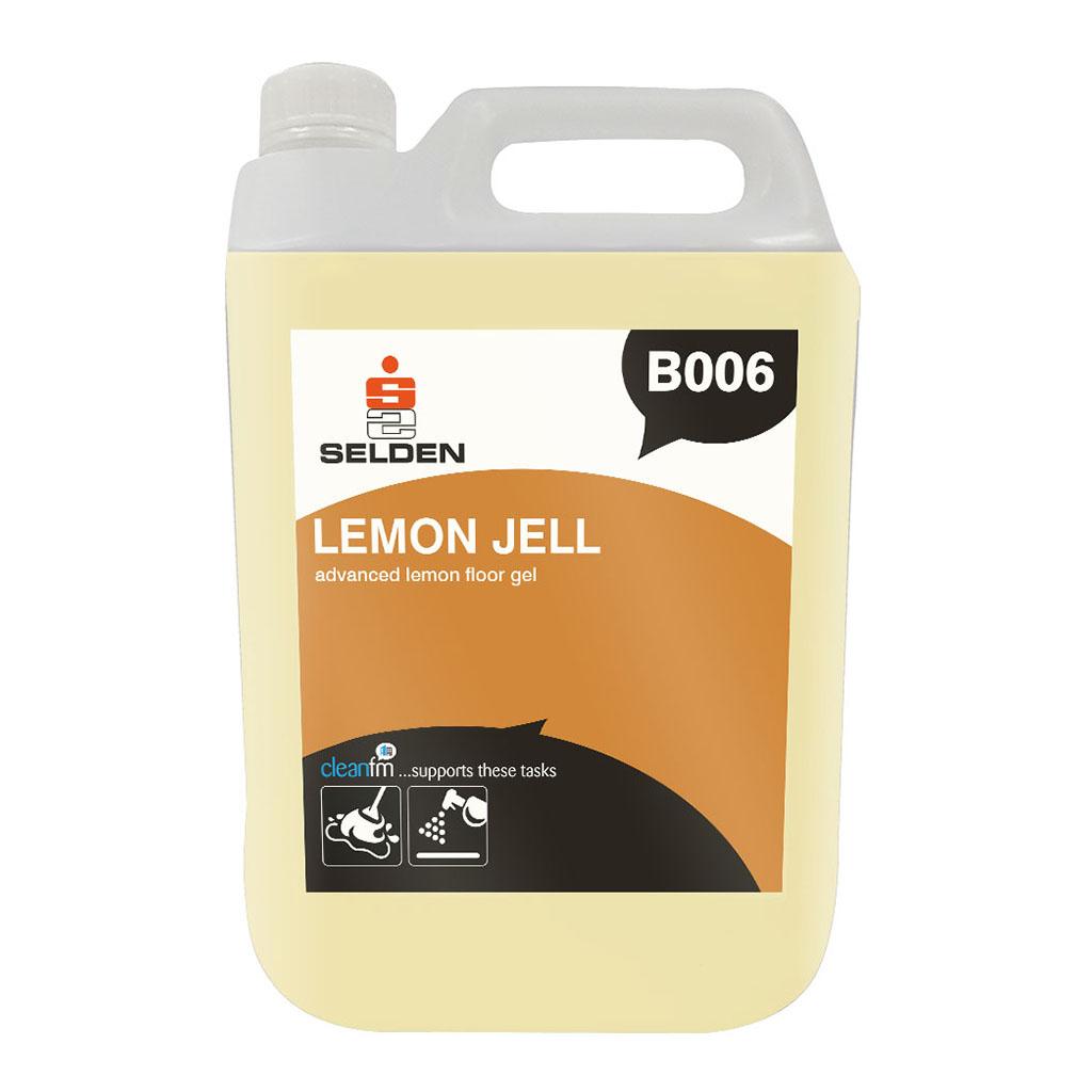 Selden | Lemon Jell | Floor Cleaner | 5 Litre | B006