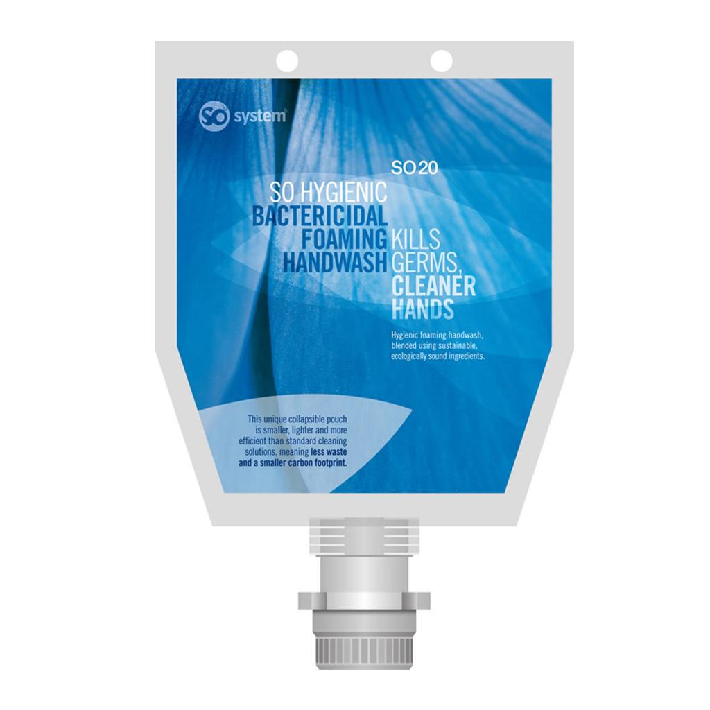 Selden | So Hygienic | Bactericidal High-Foam Soap | 1 Litre Pouch | S032 | Case of 3
