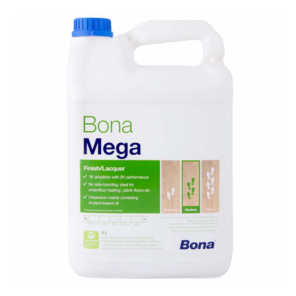 Bona Mega | Wood Floor Lacquer | 5 Litre | Case of 3