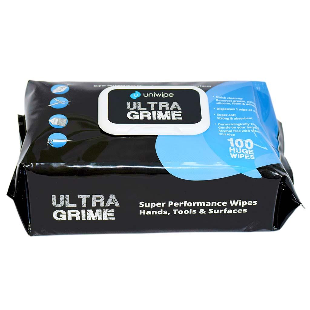Uniwipe | Ultragrime Wipes | Pack of 100