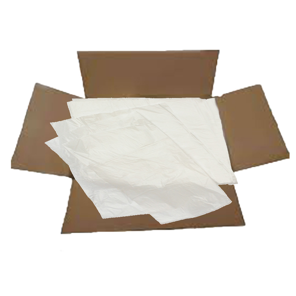 White Heavy Duty Swing Bin Liners (Box of 500) BRS085