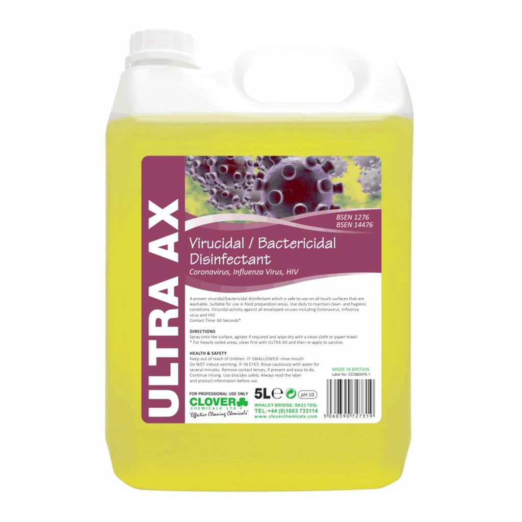 Clover | Ultra AX | Virucidal/Bactericidal Disinfectant | 259