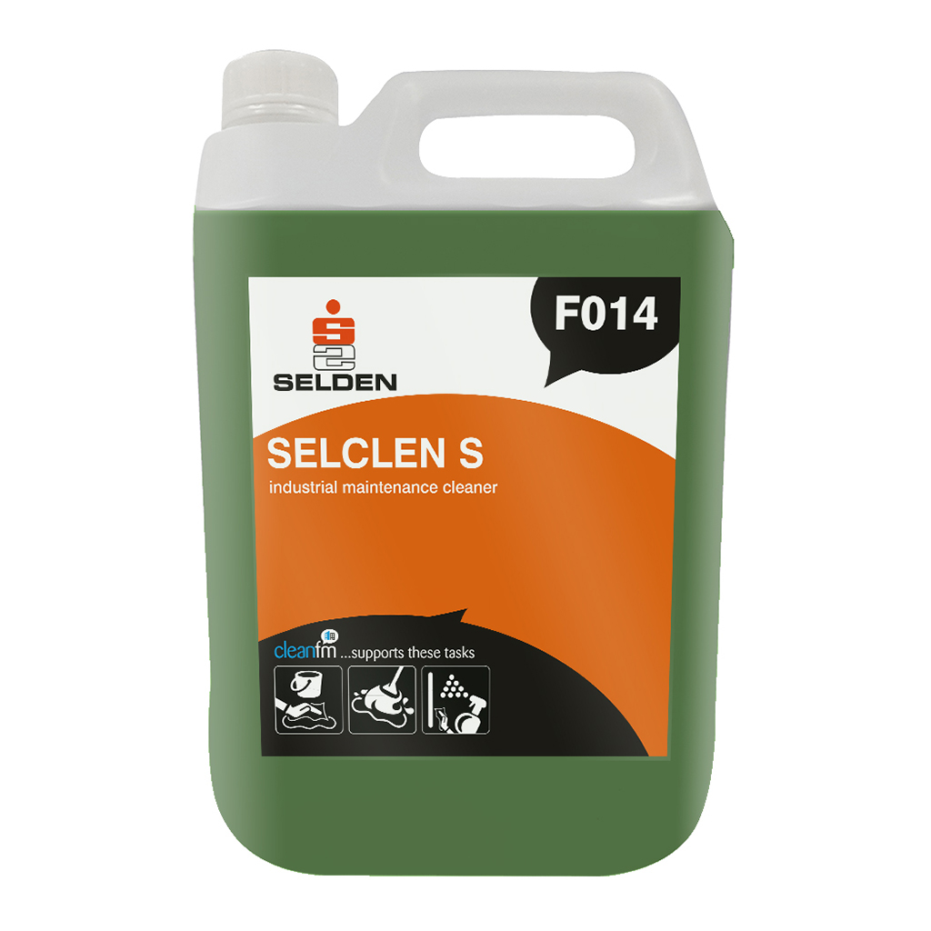 Selden | Selclen S | Industrial Maintenance Cleaner Concentrate | F014