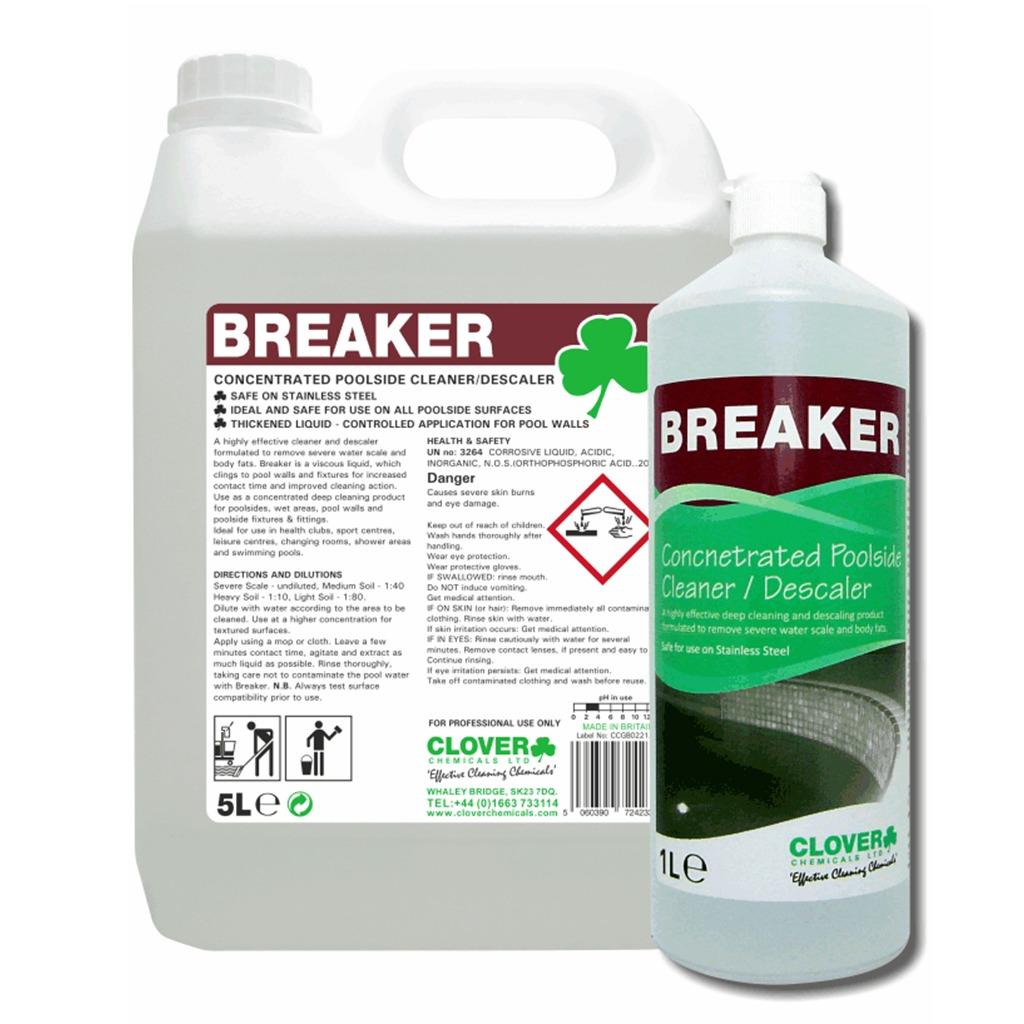 Clover | Breaker | Concentrated Poolside Cleaner/Descaler | 506