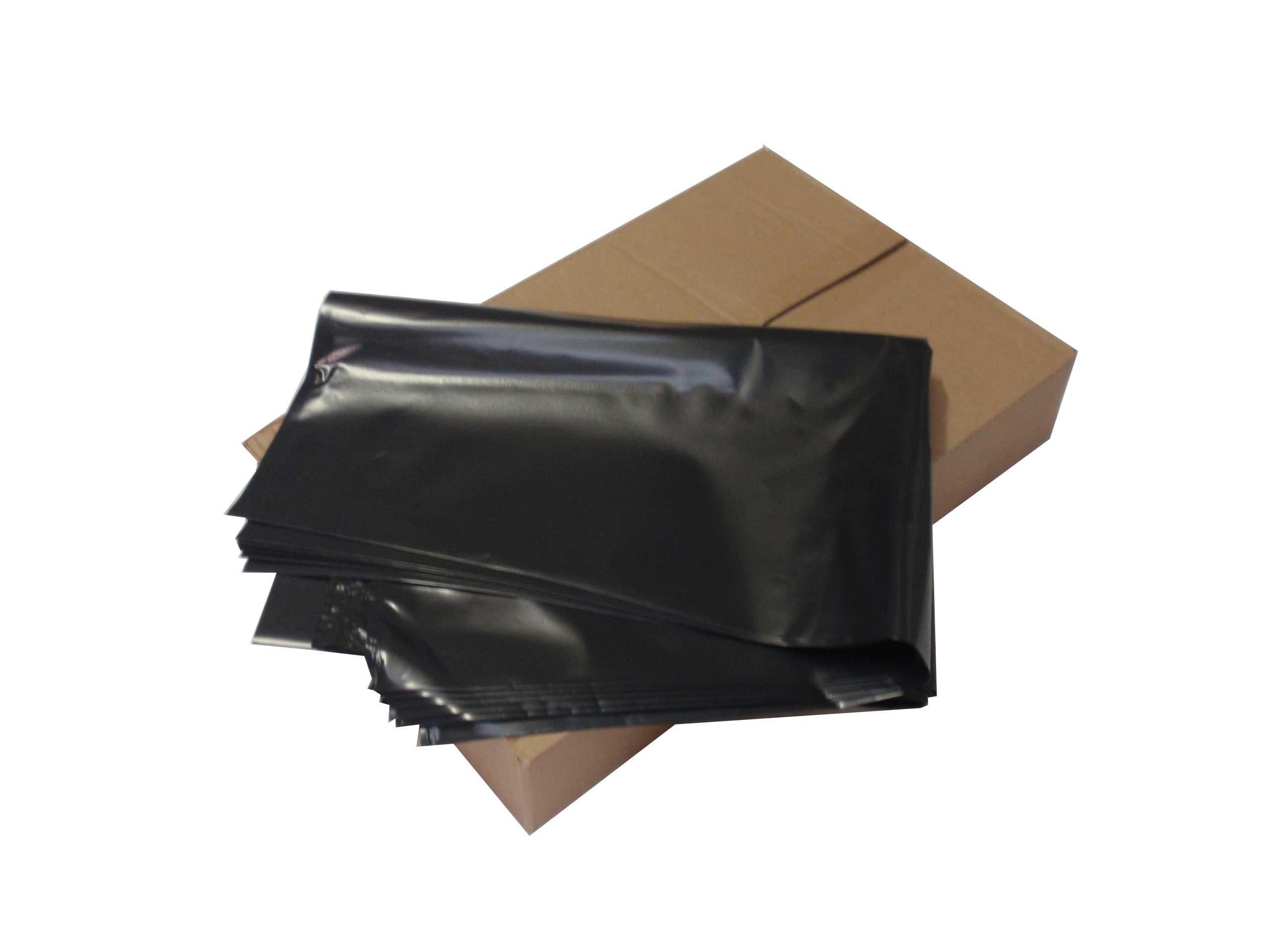 Black Heavy Duty Rubble Sacks | Box of 100 | BRS060