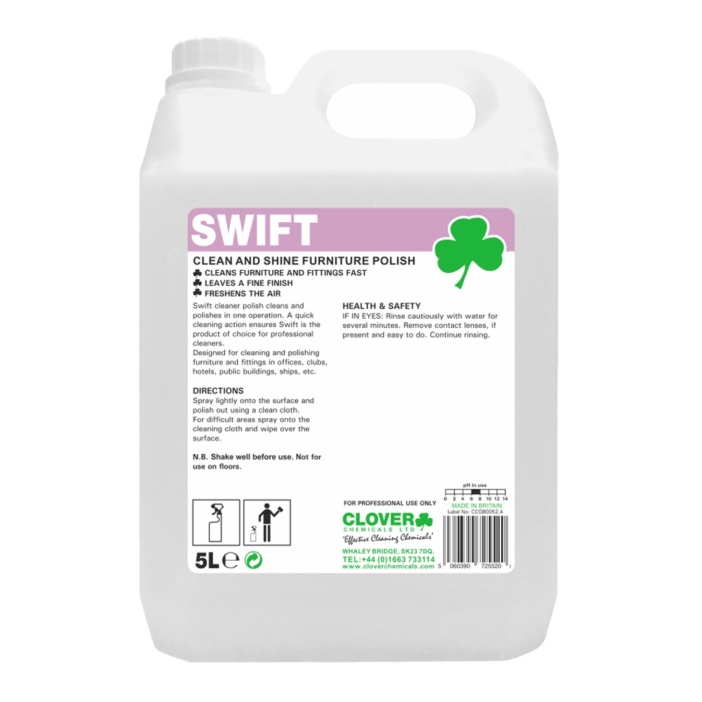 Clover | Swift | Clean & Shine Furniture Polish | 603
