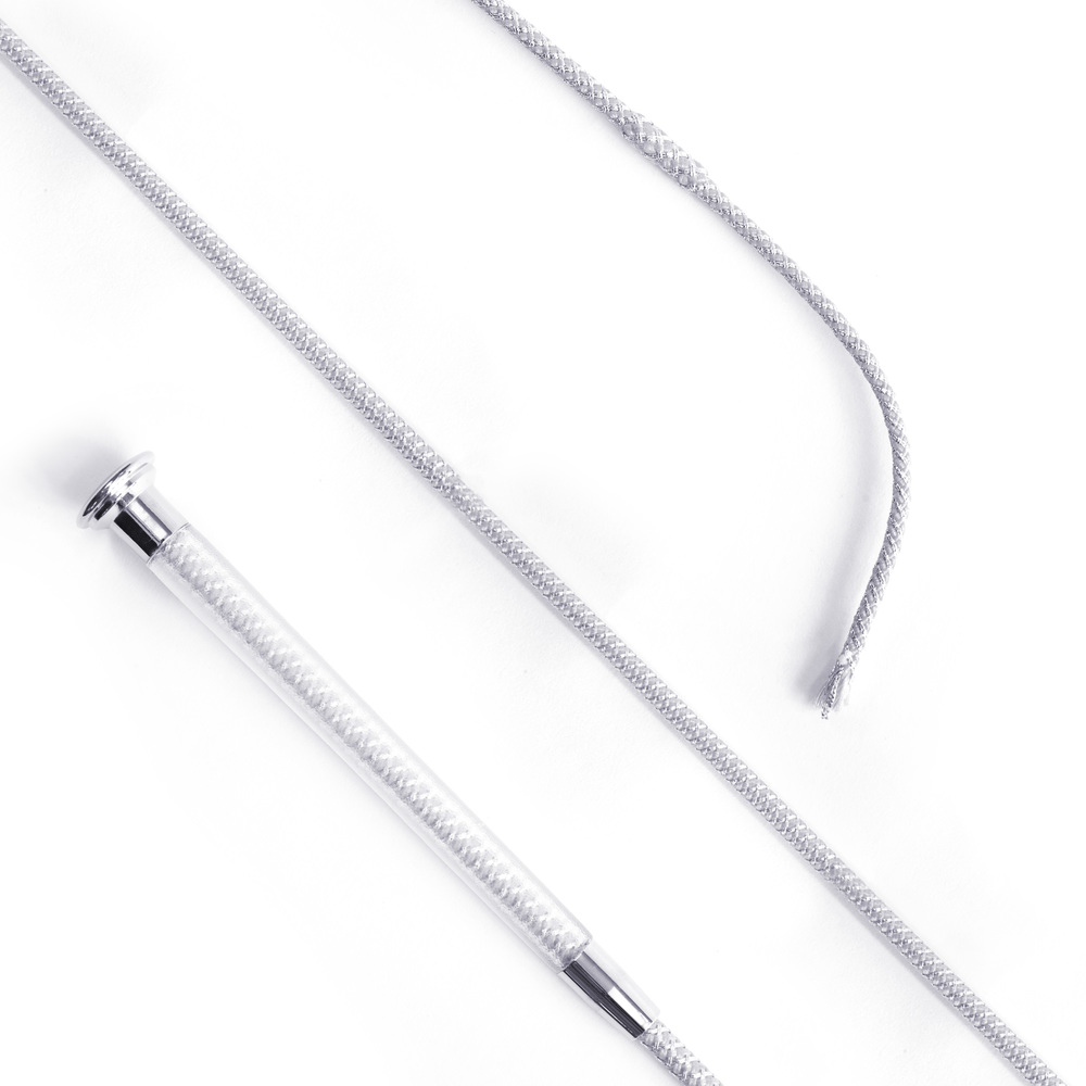 Cush Grip Schooling Whip 110cm - Silver