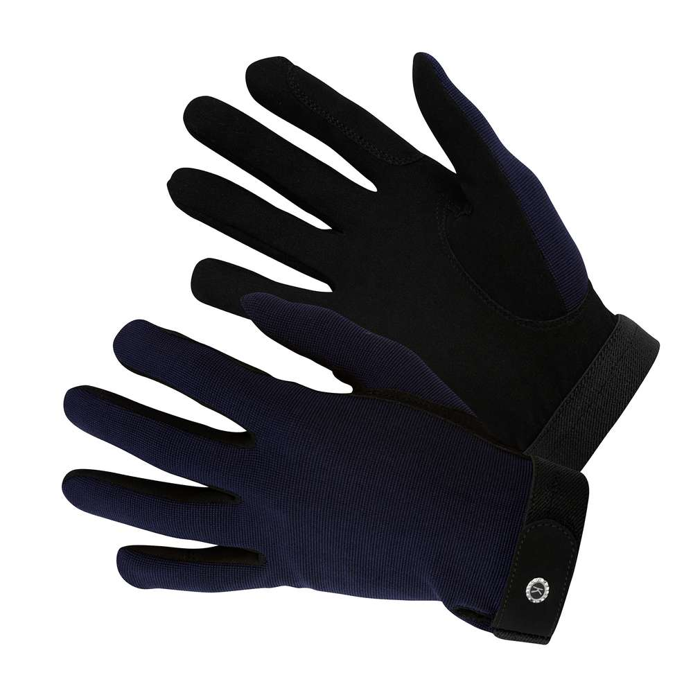 KM Elite All Rounder Glove Navy Blue