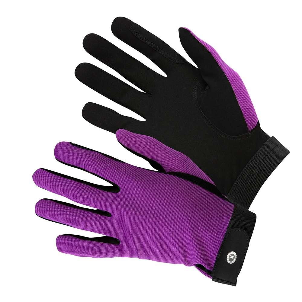 KM Elite All Rounder Glove Purple