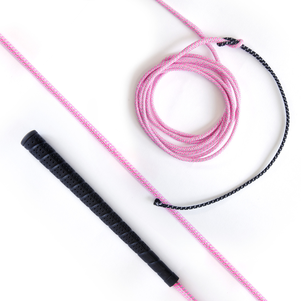 Lunge Whip Hot Pink