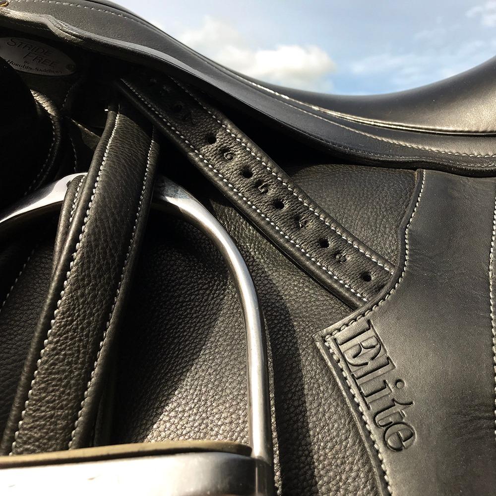 Peter Horobin Stirrup Leathers - Black