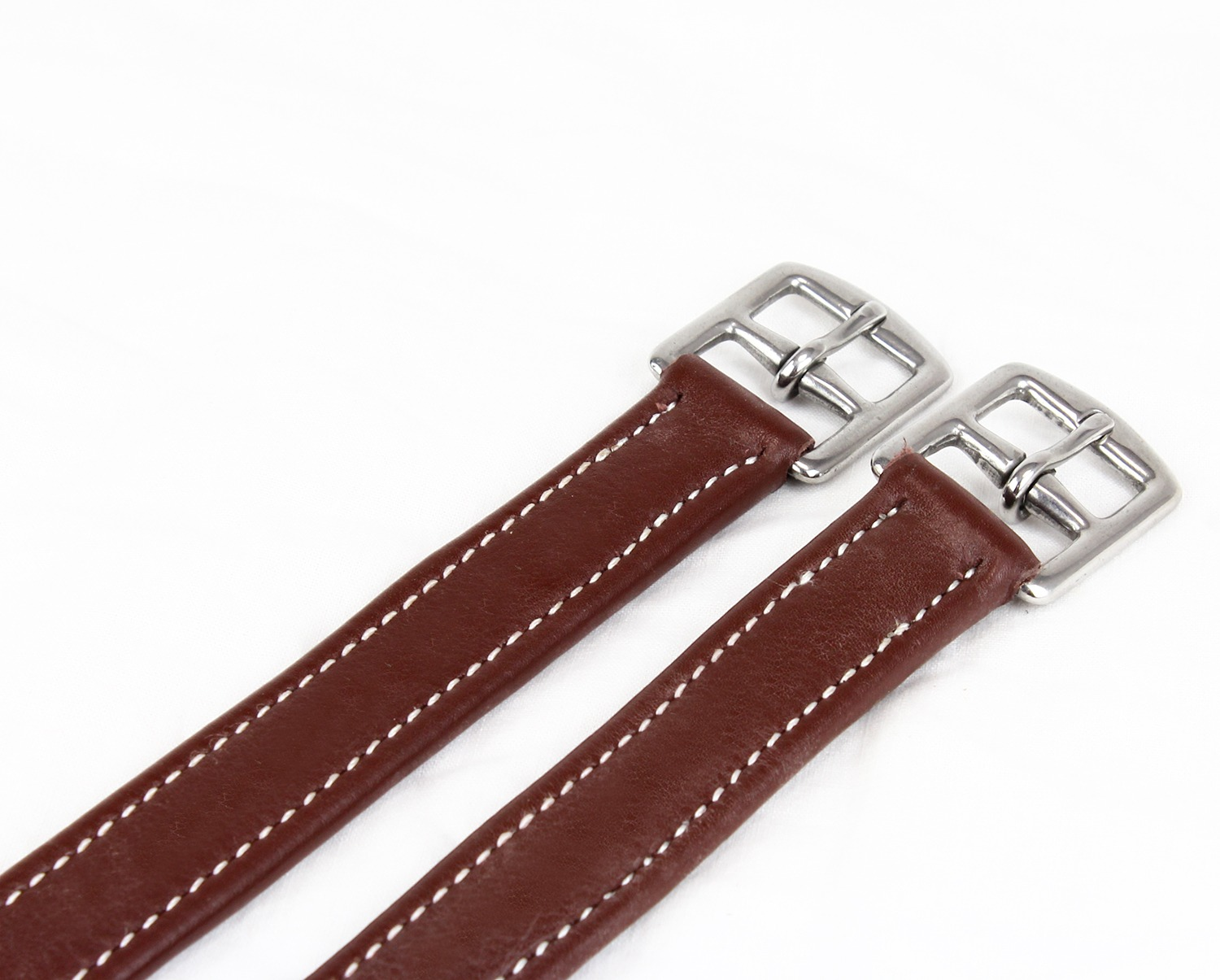 Luxury Stirrup Leathers Chesnut