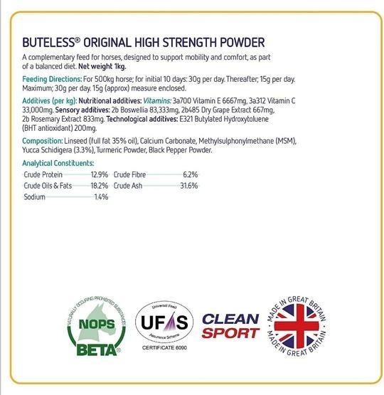 Buteless Original High Strength Powder