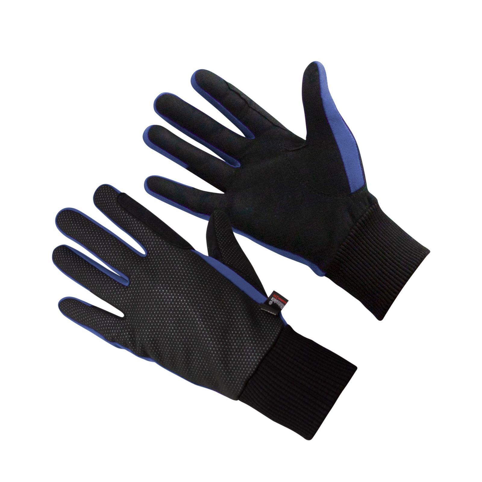 KM Thermal Winter Gloves Navy Blue