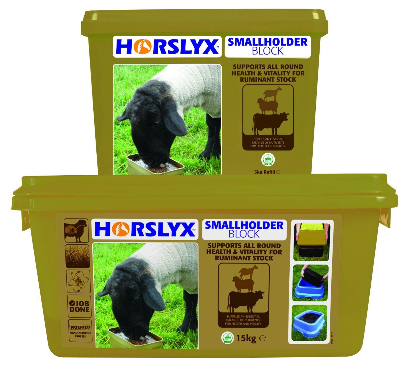 Horslyx Smallholder Block