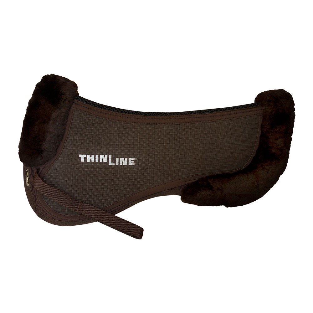 ThinLine Trifecta Half Pad With Sheepskin Rolls New version