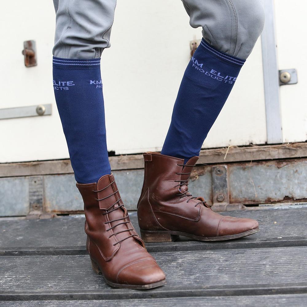 KM Elite Socks Navy/Royal