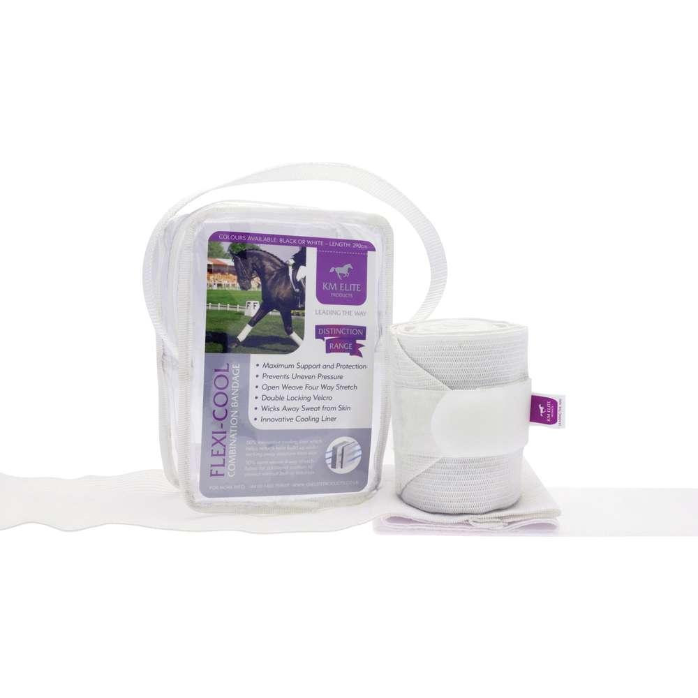Flexi-Cool Combination Bandages White