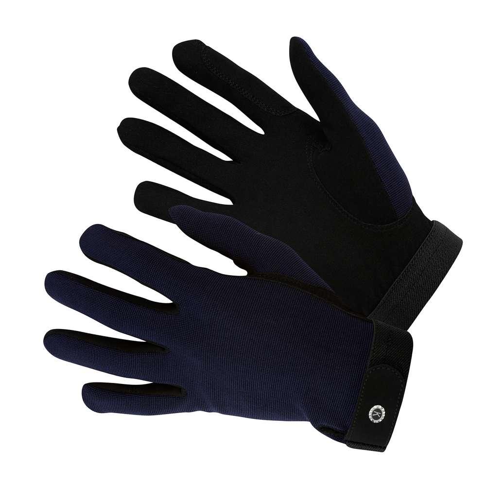 KM Elite All Rounder Glove Navy Blue