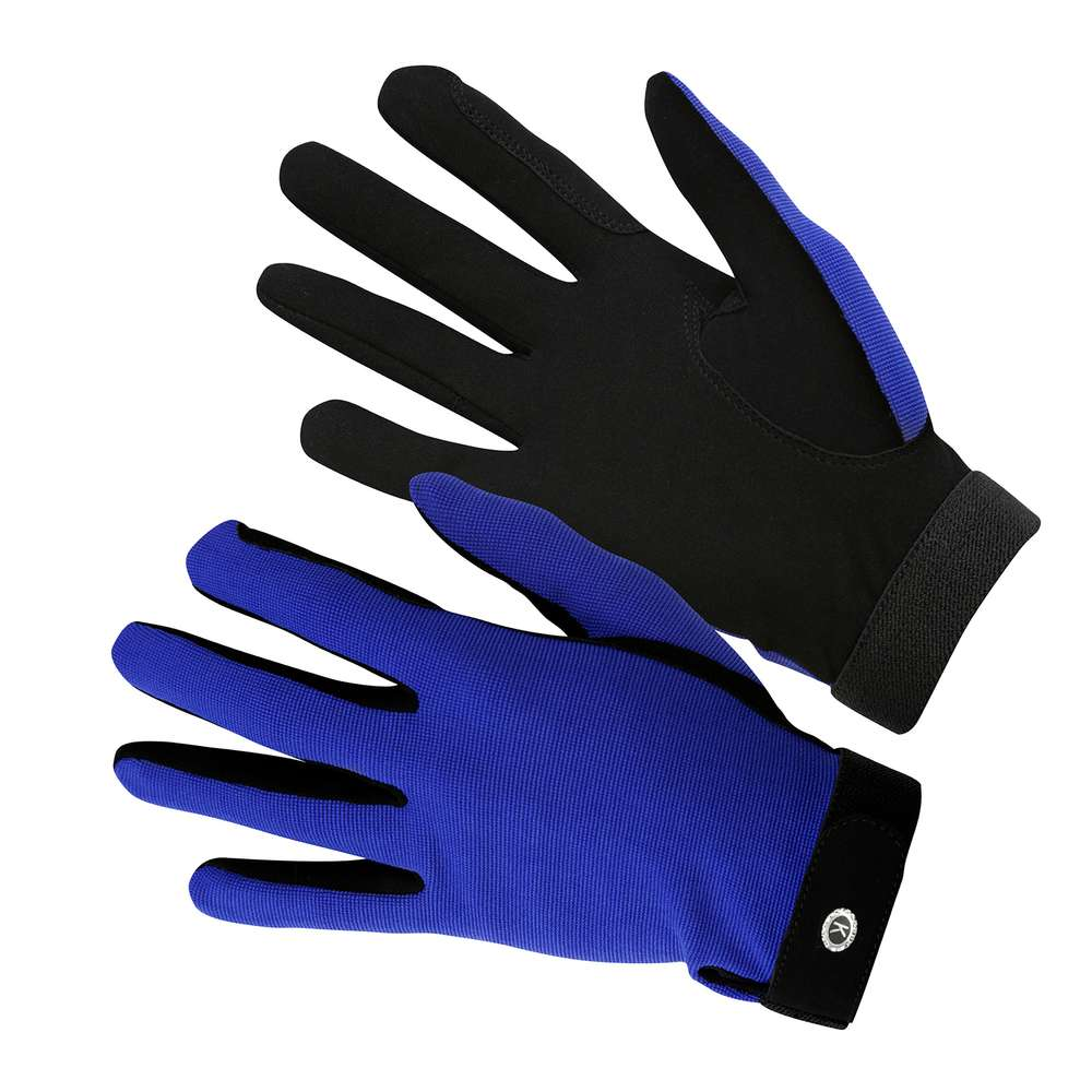 KM Elite All Rounder Glove Royal Blue