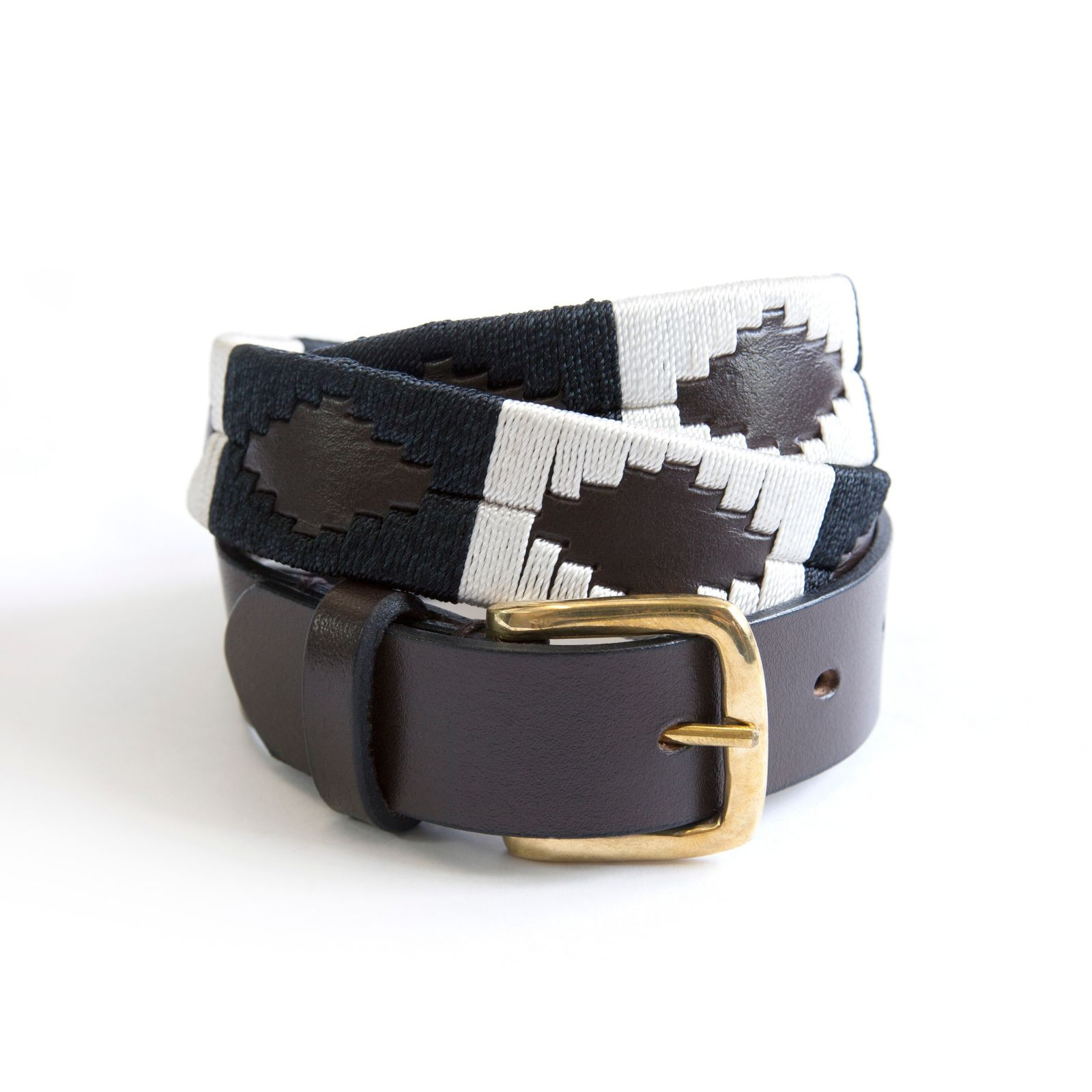 KM Polo Belt - Ebony
