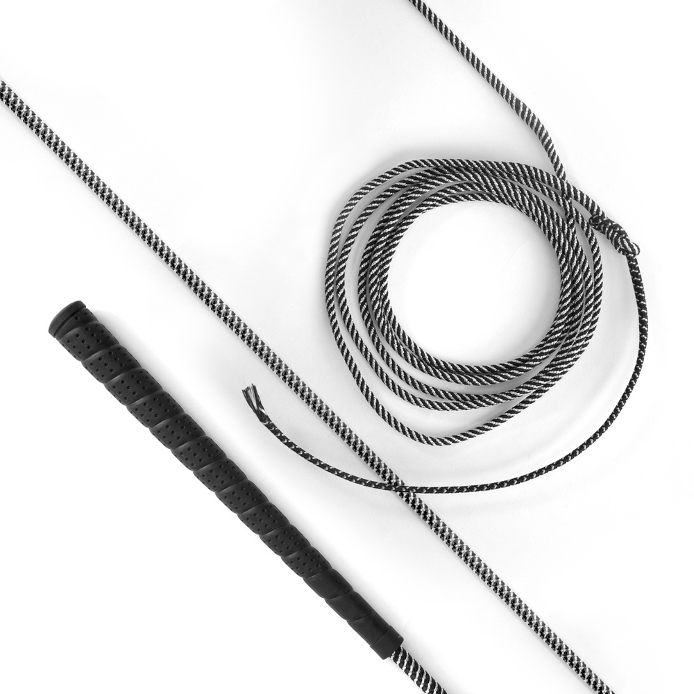 Lunge Whip Black