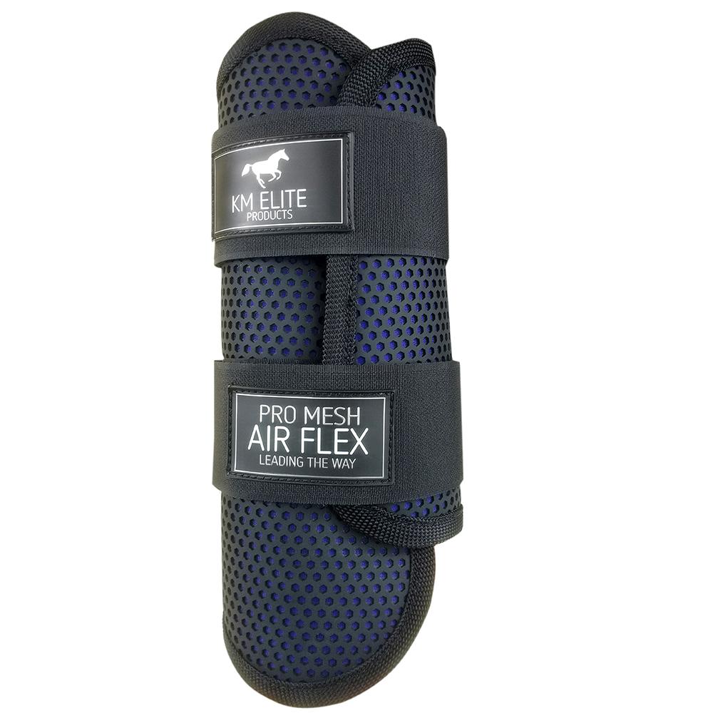 Pro Mesh Lite Black/Electric Blue Boots Front