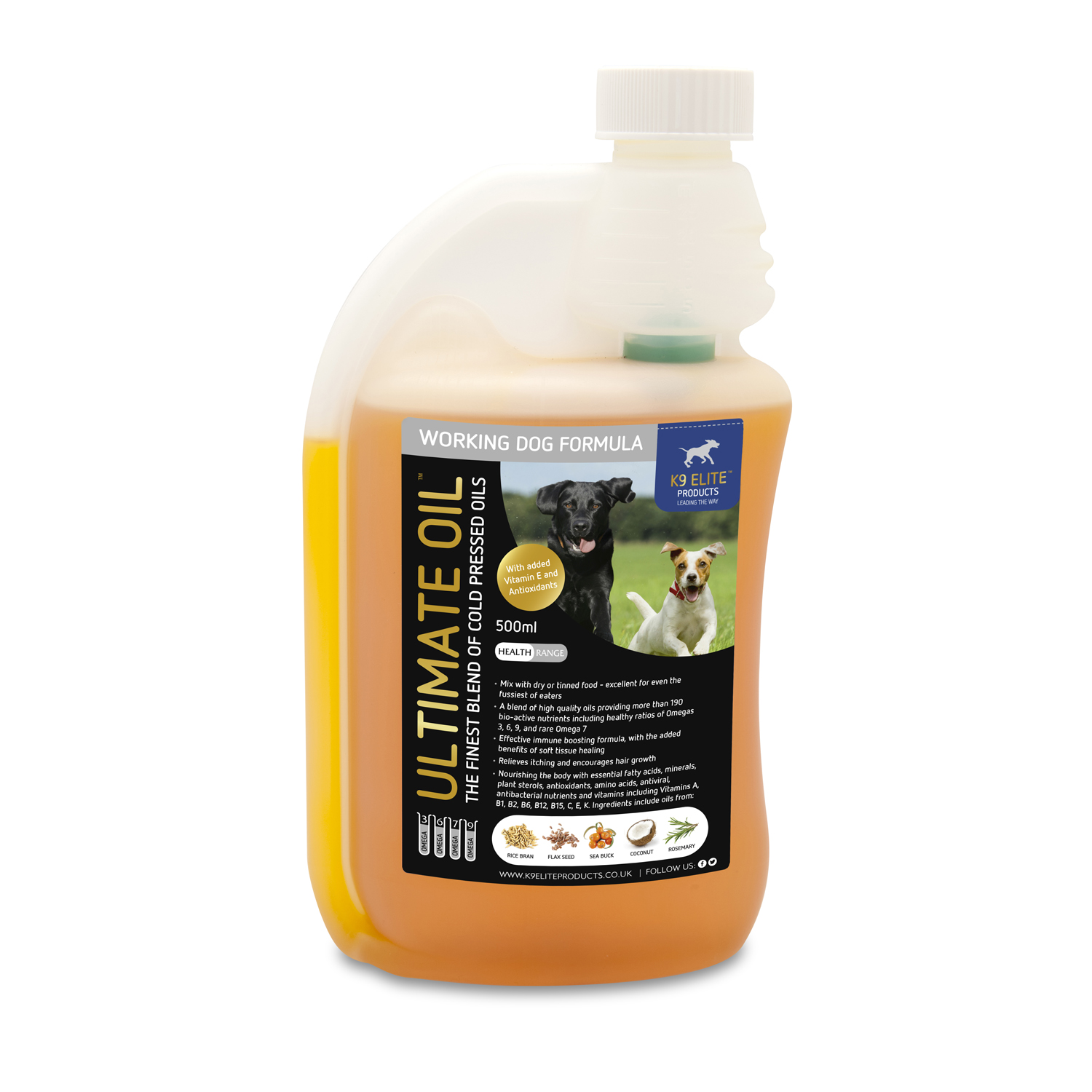 Canine Ultimate Oil for Working Dogs