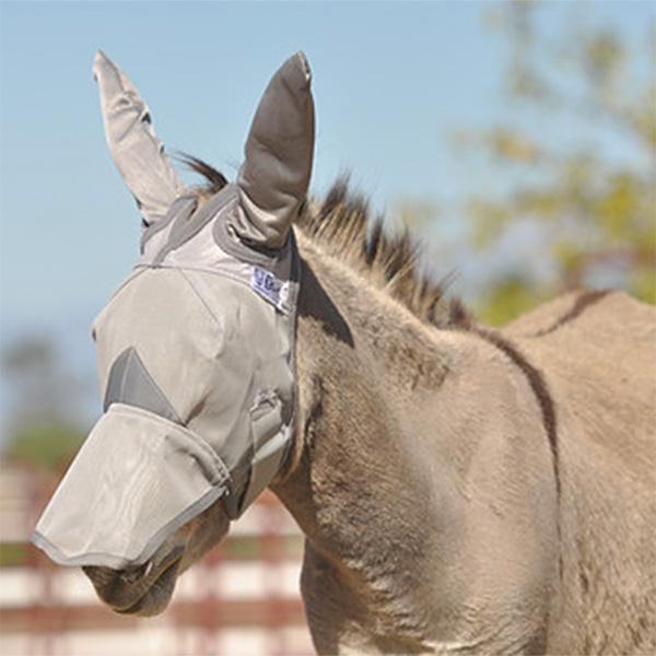 Cashel Fly Mask Donkey Long with Ears