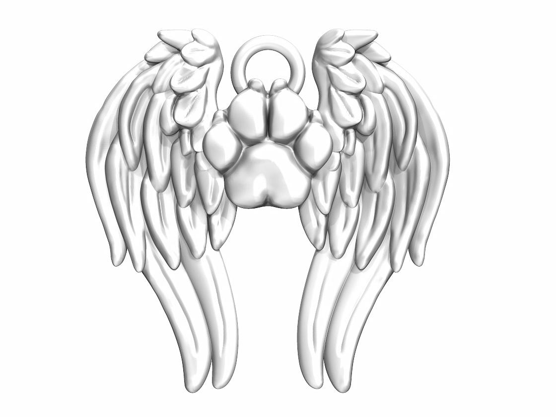 Paws in Heaven Bracelet Charm