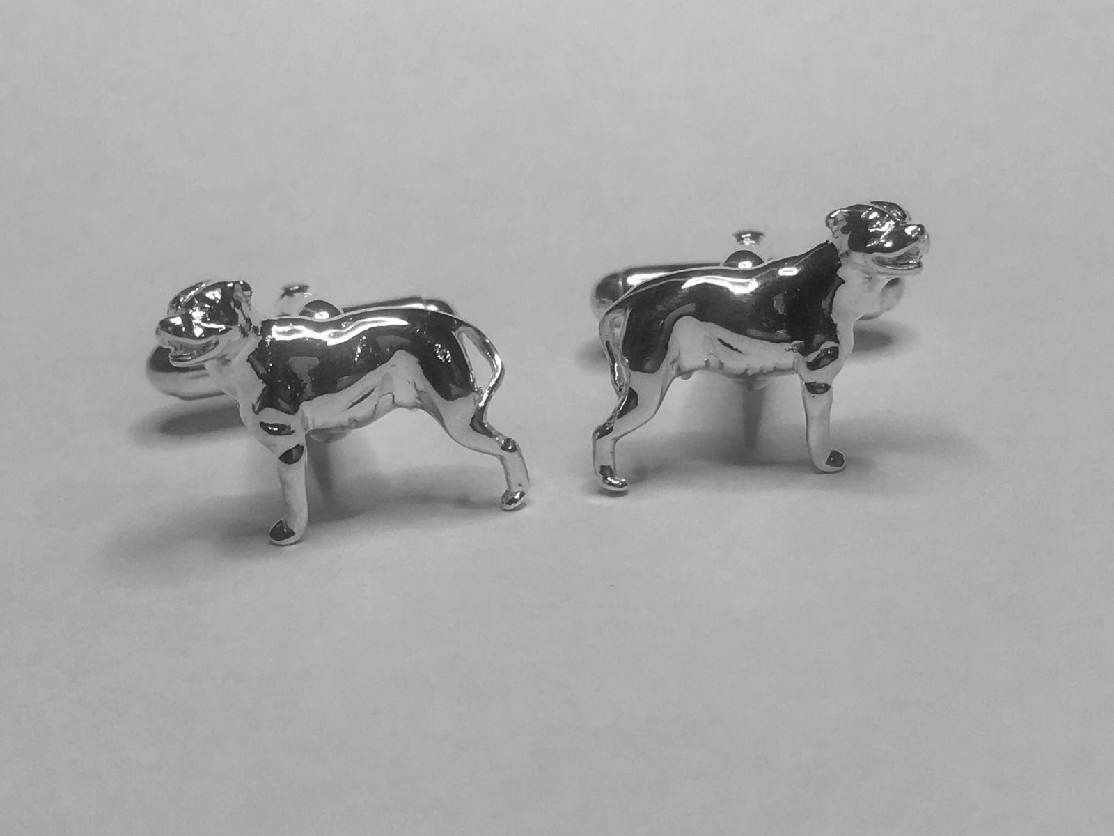 Staffordshire Bull Terrier Cufflinks
